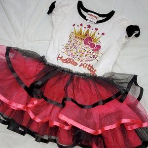 👑 Princess Hello Kitty Dress